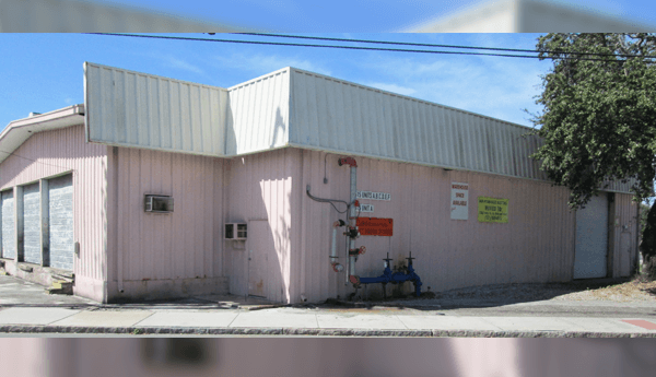 Photo of warehouse for lease in St. Pete Florida