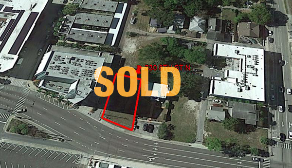 DOWNTOWN ST PETERSBURG LOT FOR SALE