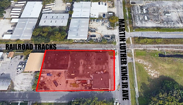 CLEARWATER WAREHOUSE FOR SALE